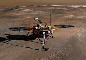 Panoramica della Phoenix Mars Lander