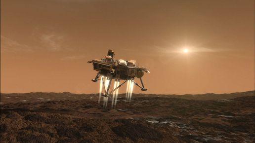 Una ricostruzione dell\'atterraggio sonda Phoenix