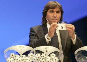 Bruno Conti al Sorteggio Champions League