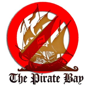 Logo del famoso sito The Pirate Bay