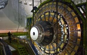 Parte dell acceleratore di particelle LHC