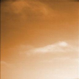 Gif Animata (10 fotogrammi) delle nuvole su marte
